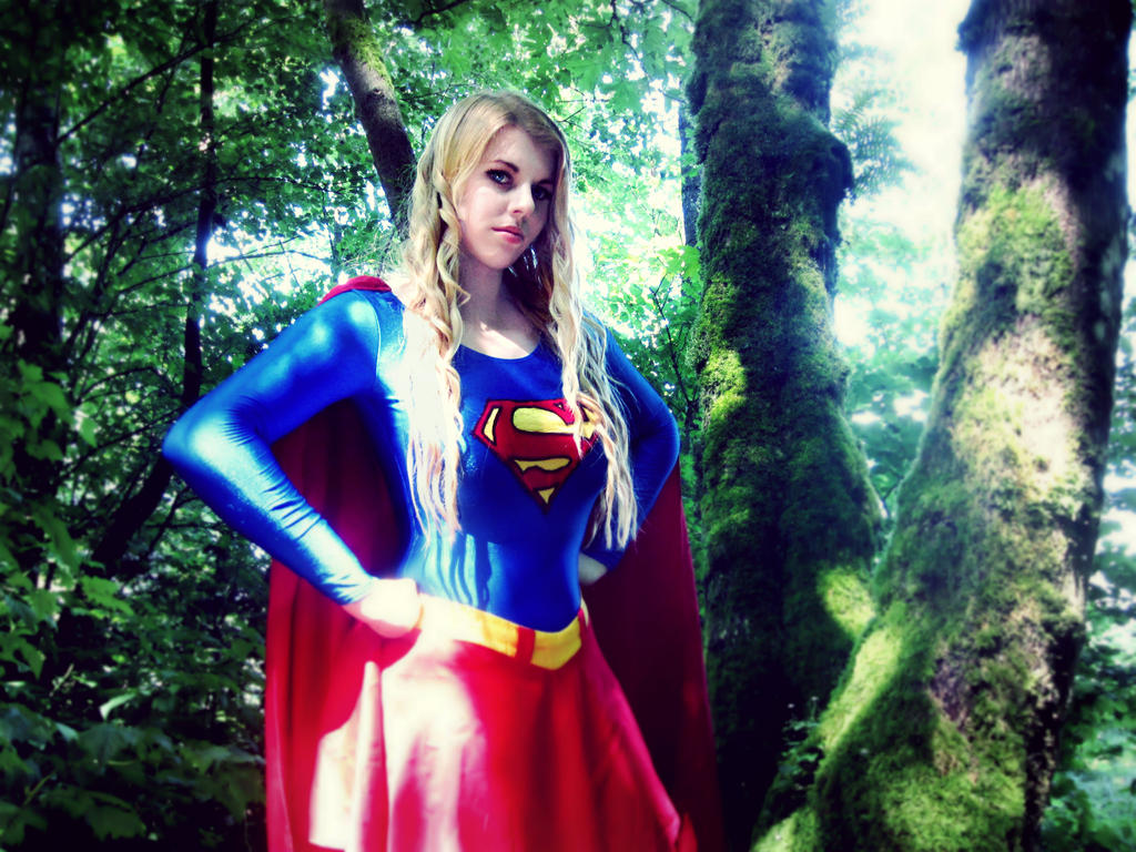 SuperGirl - Srs Bsnss by damselle-xo