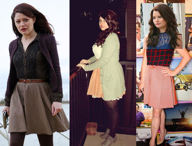 Belle from Once Upon A Time Once Upon A Time Outfits