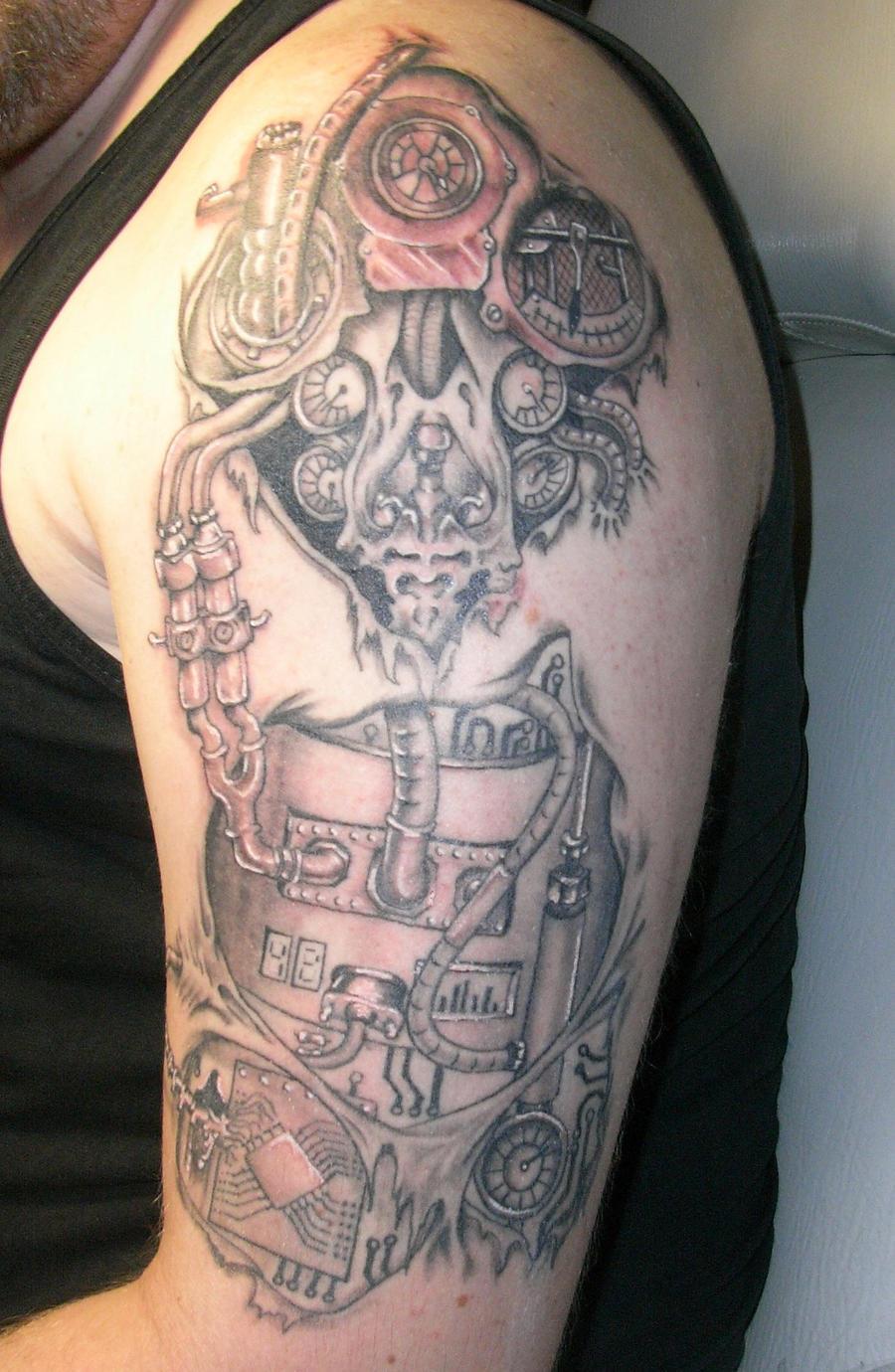 Tattoo final by m3j