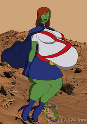 Young Justice Miss Martian Pregnant