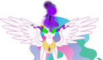 Princess Celestia (black magic) Vector