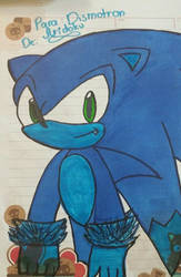 Sonic the Werehog (Marcadores) by Aridoku