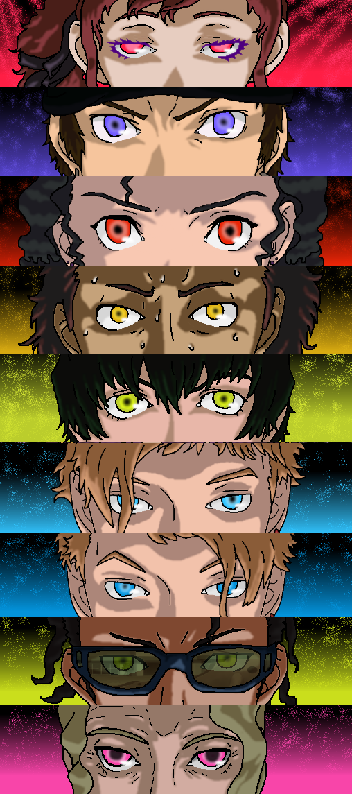Persona Trinity soul group 2 by PikeInverse