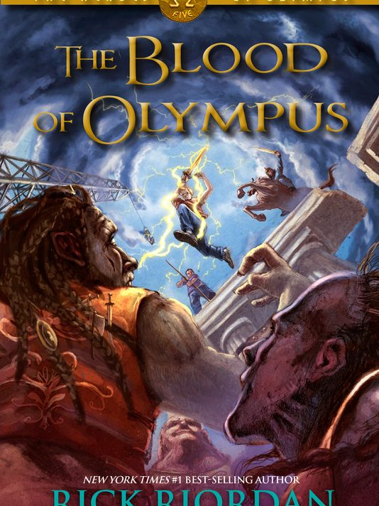 BLOOD OF OLYMPUS COVER! by AnnabethJackson13