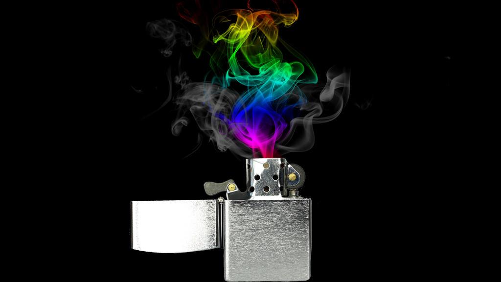 Rainbow Fire Lighter By Bella Beauty On DeviantArt
