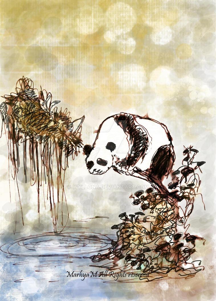 Panda by Jantaria