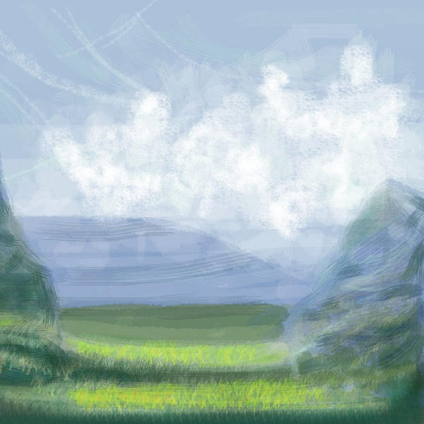 Landscape practice 1 by Jantaria