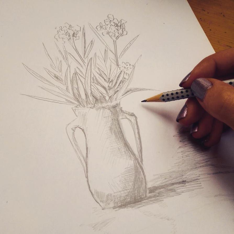 Vase study by Jantaria