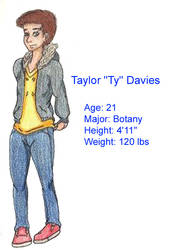 Ty Davies by Aira09