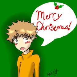 Merry Christmas Mihashi by Aira09