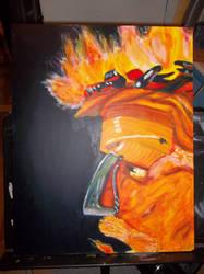 Arcimboldo Fire by Aira09