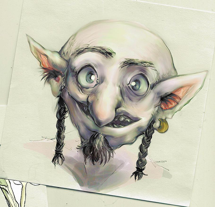 Goblin by RedPaints