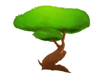 Tree practice by RedPaints