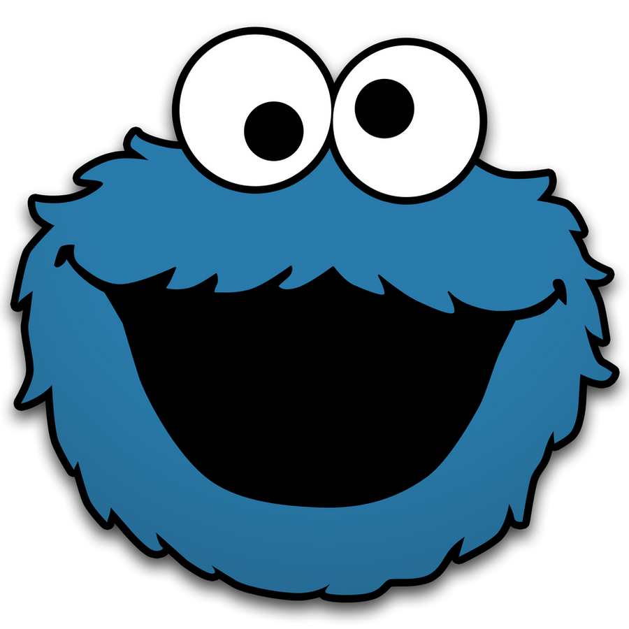 mosnter template - cookie monster by neorame on deviantart