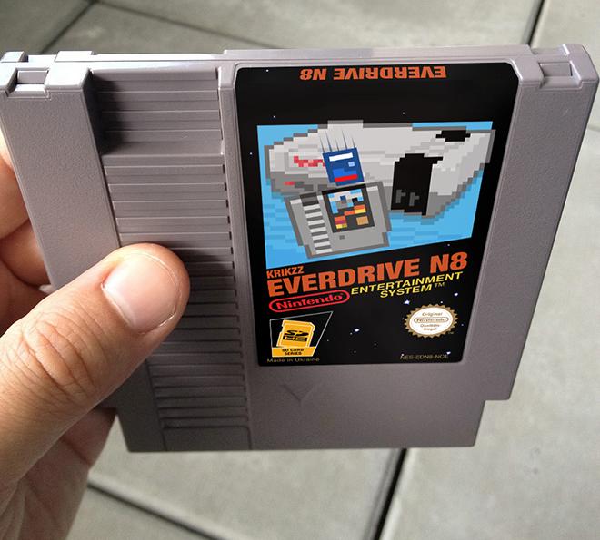 WIP Everdrive N8 Cartridge Label by NeoRame