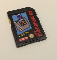 Everdrive N8 SD Card Label