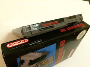 Everdrive N8 Cartridge Label Top
