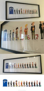 Doctor Who Pixel Art Picture