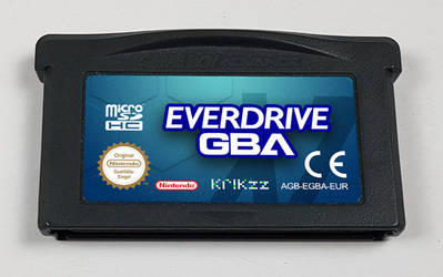 Everdrive GBA X7 Prototype by NeoRame
