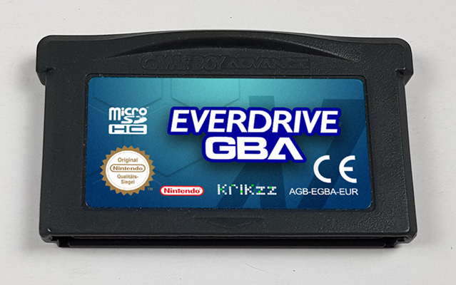 Everdrive GBA X7 Prototype