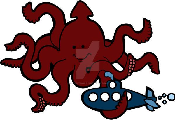 mounstro con tentaculos uriel by AlvarezTequihua