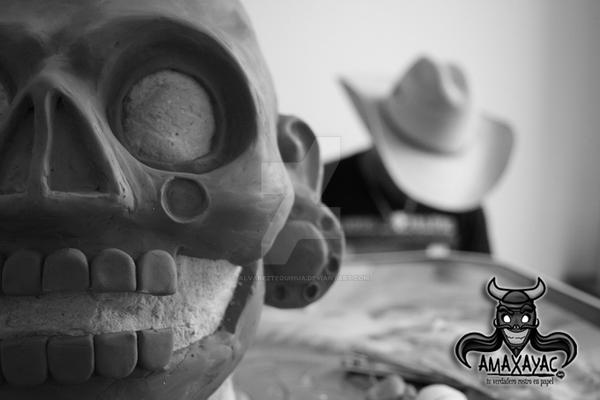 Coatlicue Mascara Amaxayac by AlvarezTequihua