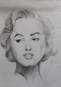 Marilyn Monroe / so messy, I am sorry by Araiguma228