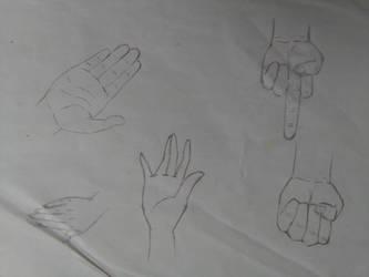 Hand paractice