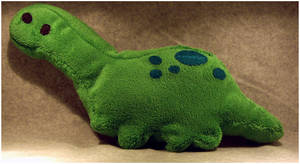 Plush Dinosaur. by tfsr