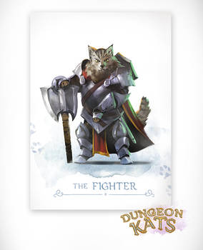 Dungeon Kats - The Fighter