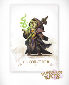 Dungeon Kats - The Sorcerer