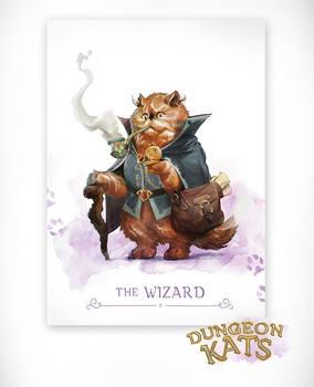 Dungeon Kats - The Wizard