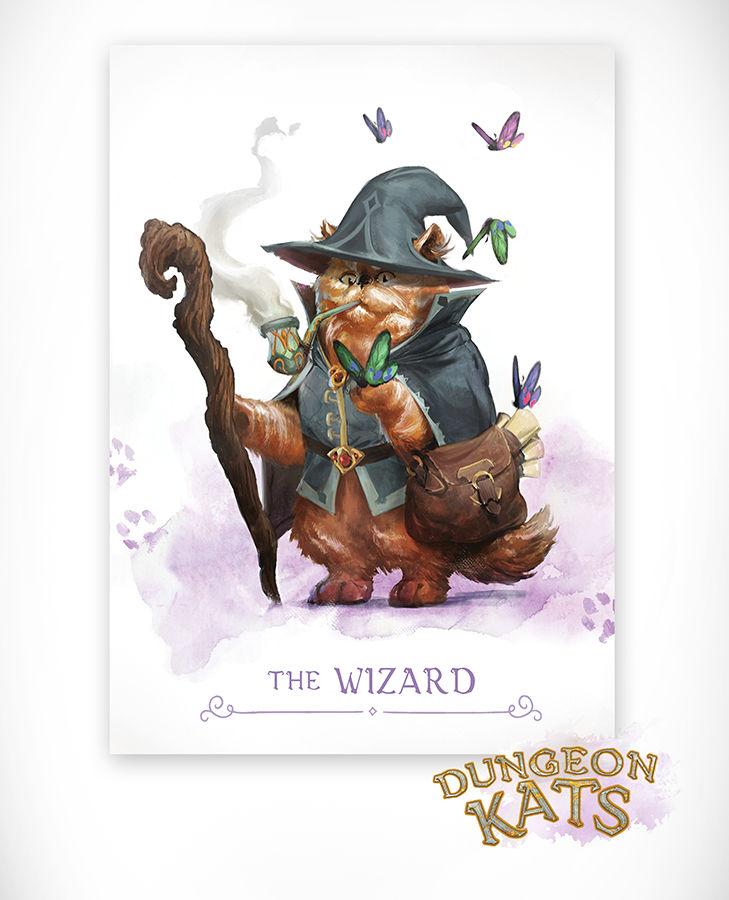 Dungeon Kats - The Wizard KS exclusive