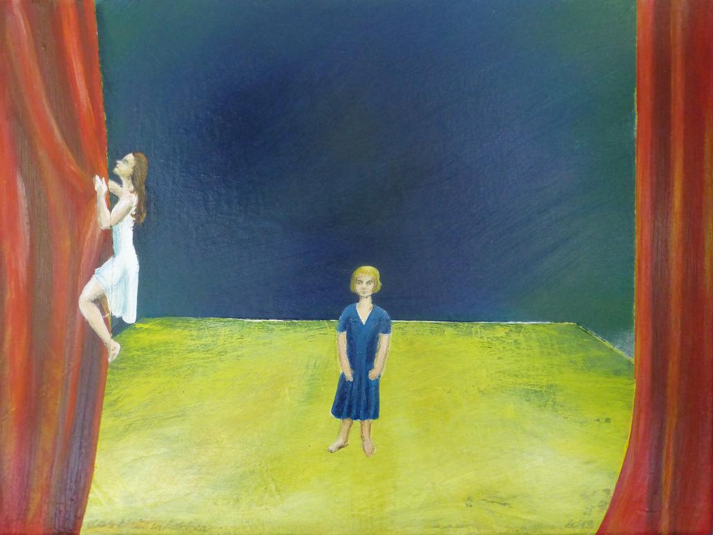 auf meiner buehne | on my stage by bluemacgirl