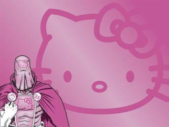 Hello Kitty Cmdr 1024x768 by greckler