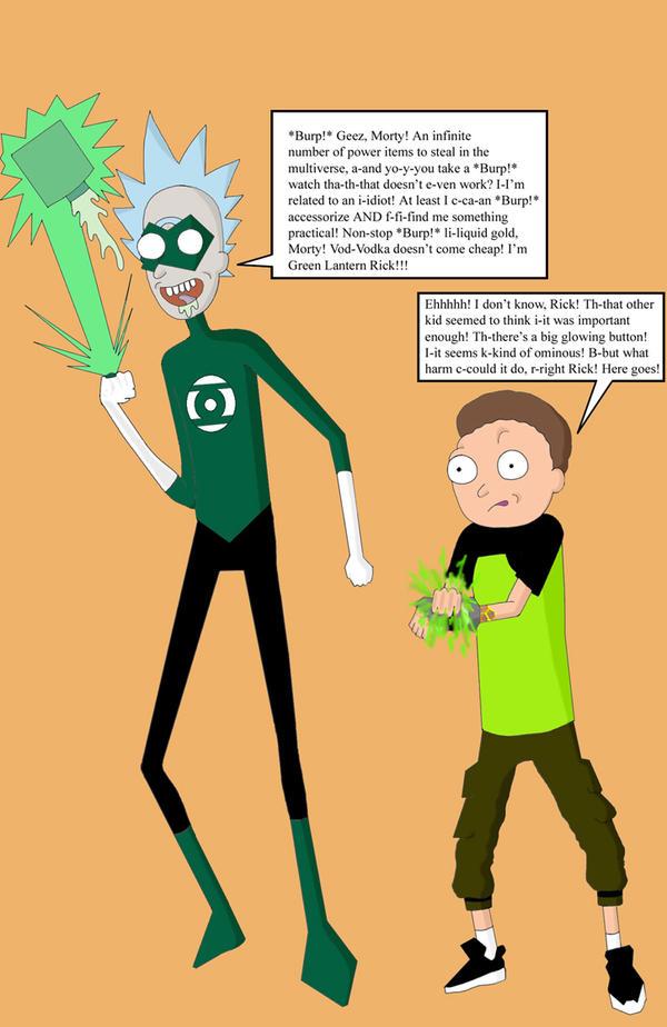 Rick and Morty Multiverse Hijinks by N-I-V-E-K