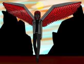 Angel of Hatred by ProfessorYumYum