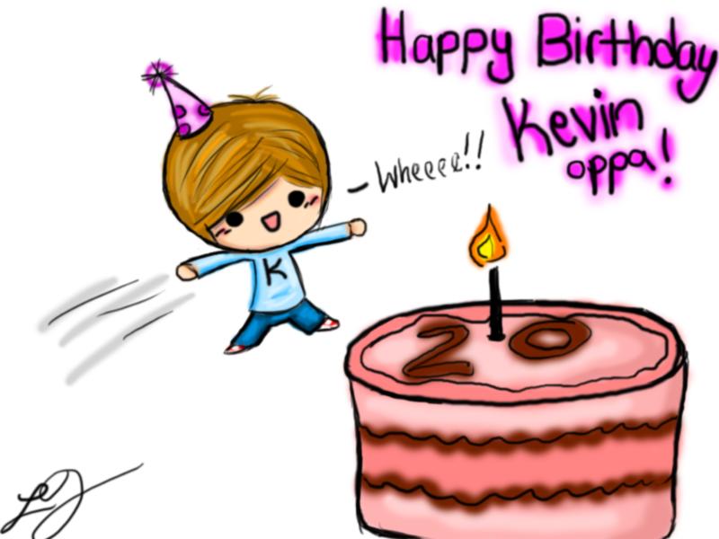 Happy Birthdaykevin C Cake Images