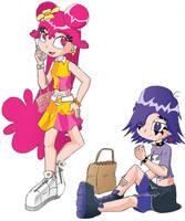 Teen AmiYumi by generalsnaz
