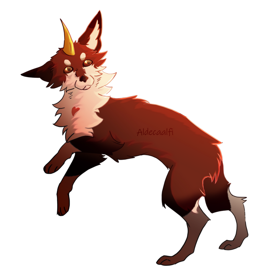 A small ember