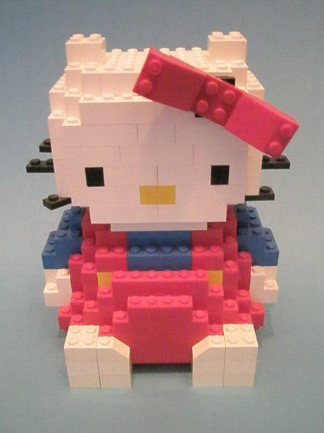 Lego hello kitty by graybow on deviantart - Lego hello kitty maison ...