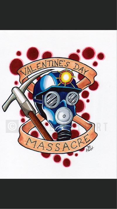 My Bloody Valentine Tattoo Flash By IanBennettArt ...