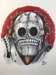 Skeletron (Turbo Kid) by IanBennettArt