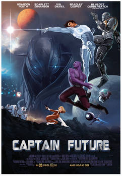 CAPTAIN FUTURE the motion picture