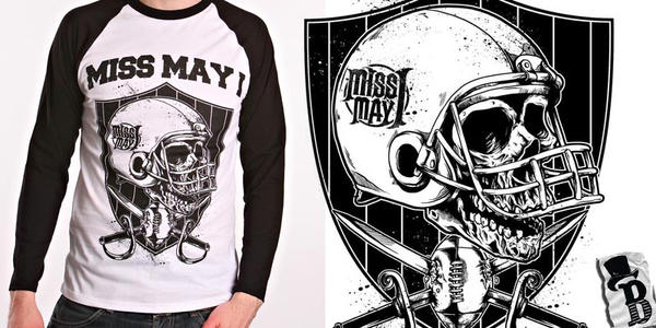 FOOTBALL HELMET-MISS MAY I by bazzier