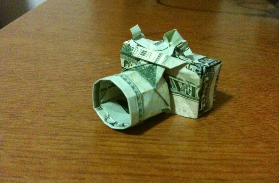 Dollar Bill Camera Redux by Zadimortis
