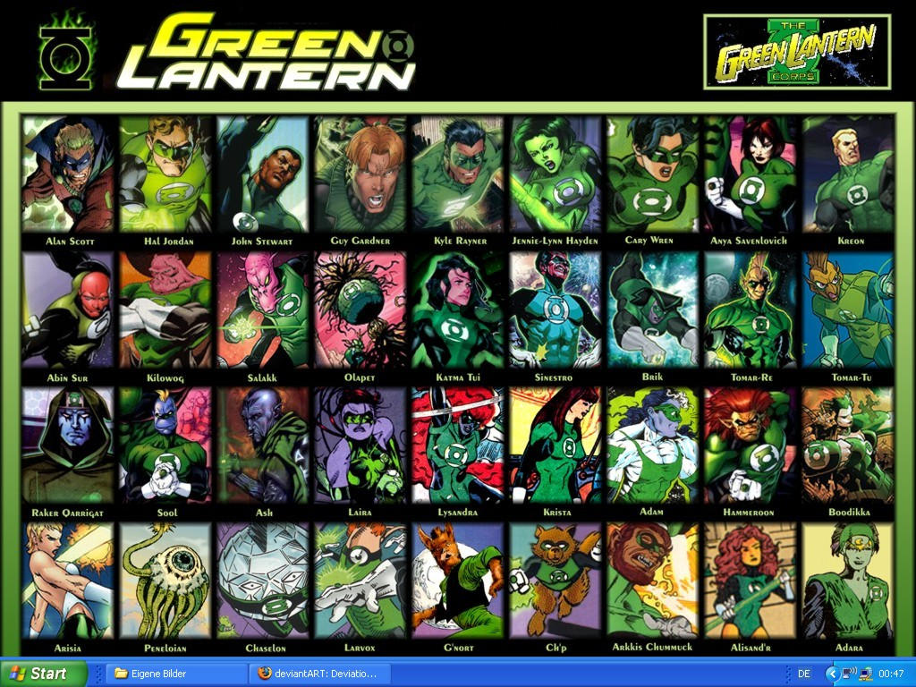 Green Lantern Corps - Wallpape by Obsi1