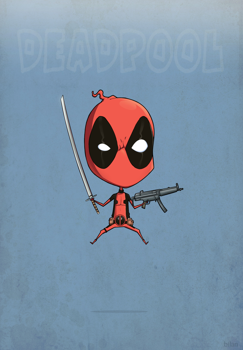 deadpool by kolyabilan