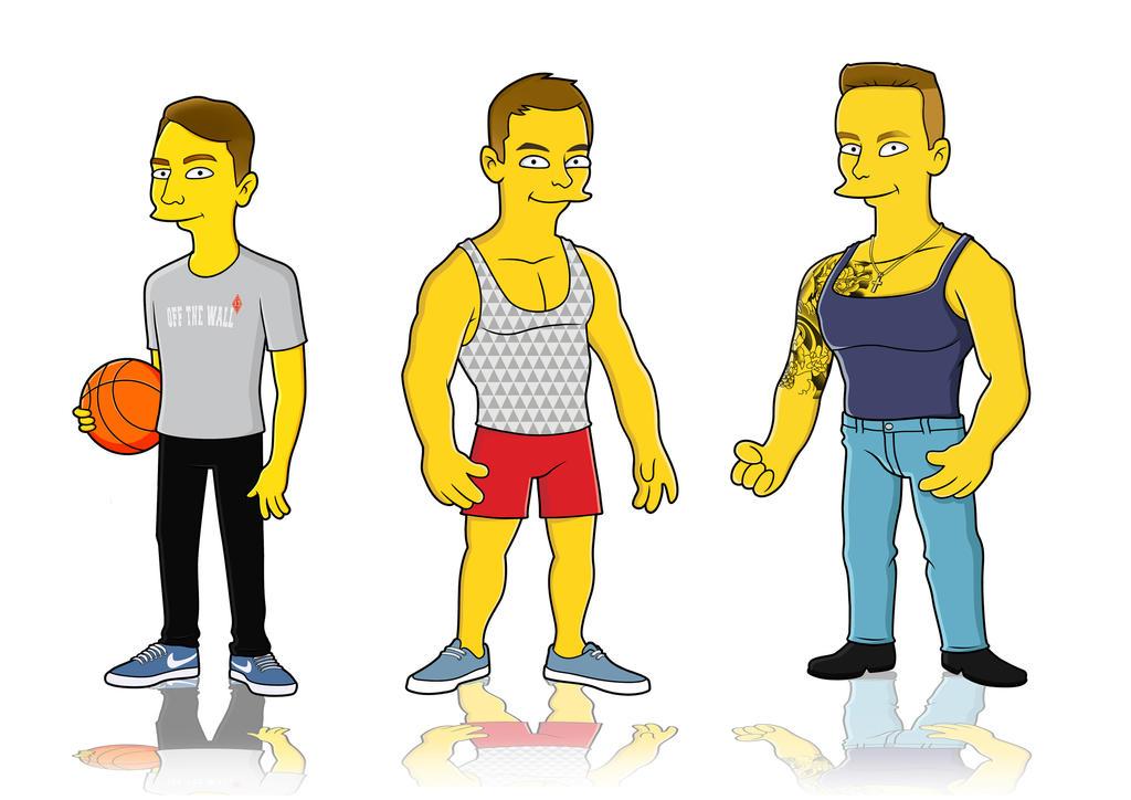 Simpsons_art by kolyabilan