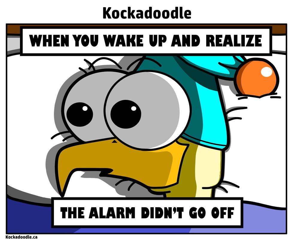 Alarm Meme by Kockadoodle